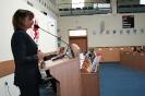 Lekcja samorządowa dla uczniów Gimnazjum w Boleszkowicach (17 marca 2016)